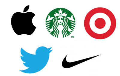 A group of successful but simple logos